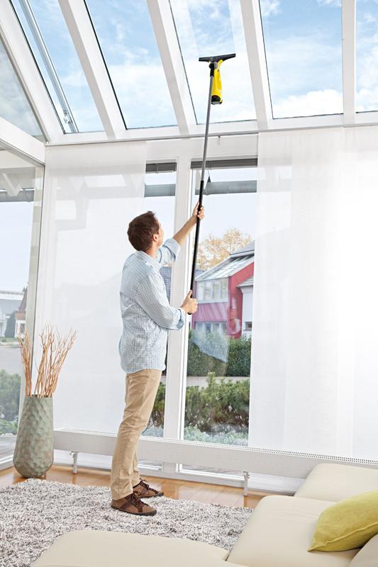 Adapter-Saugdüse zum Verlängern des Fenstersaugers