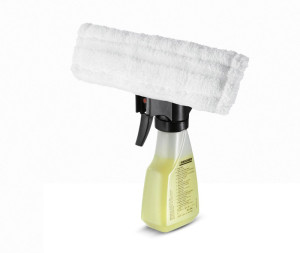 Separate Reinigungseinheit aus dem Lieferumfang der Kärcher Fenstersauger